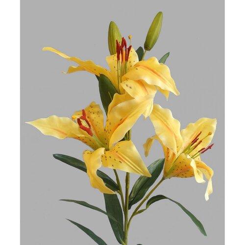 Umelá kvetina Ľalia, žltá
