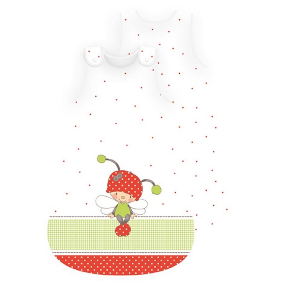 Herding Dětský spací pytel Lara Ladybug, 45 x 90 cm