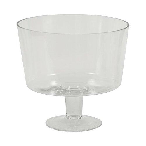 Autronic Skleněná váza Bowl, 24 cm