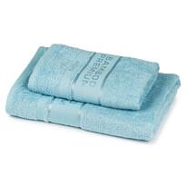 4Home Komplet Bamboo Premium ręczników jasnoniebieski, 70 x 140 cm, 50 x 100 cm