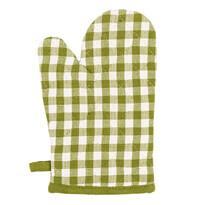 Rękawica kuchenna Kostka, zielona, 17 x 27 cm