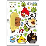 Samolepicí dekorace Angry Birds