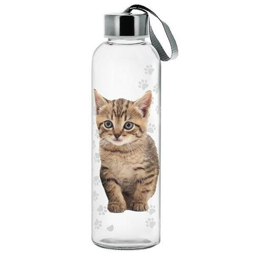 Cerve Sklenená fľaša Cat, 500 ml