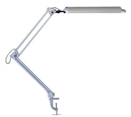 Stolní lampa Rabalux Planner 2 stříbrná, stříbrná, 78 x 60 cm
