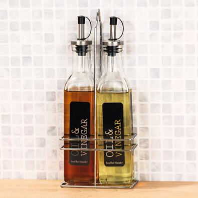 2-dílná sada na ocet a olej