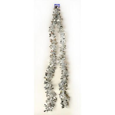 Řetěz Chunky, stříbrný, 200 cm, stříbrná