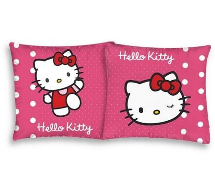 Polštářek Hello Kitty Pinkie, 40 x 40 cm, růžová