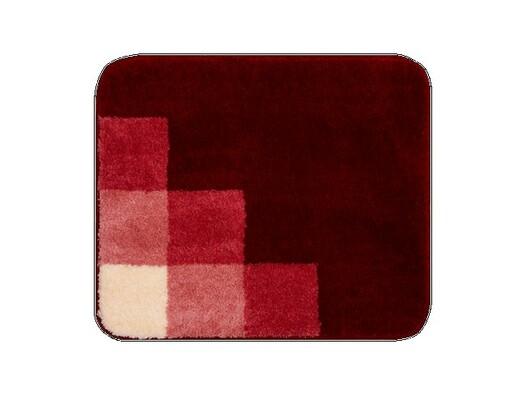 Koupelnová předložka Grund UDINE červená, 55 x 65 cm