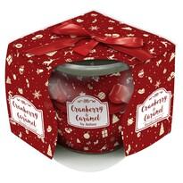Vonná svíčka Cranberry & Caramel, 85 g