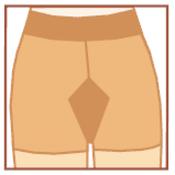 Formwell 40 podpůrné punčochové kalhoty 170 -176/ 108 - 116