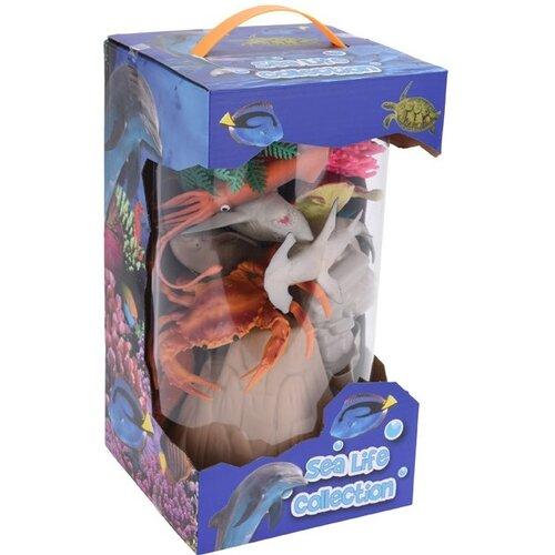 Dětský hrací set Sea life Collection, 26 ks