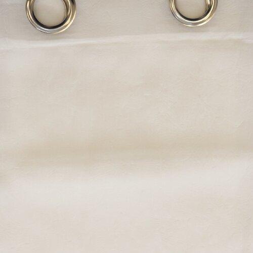 Záves s krúžkami Jake biela, 135 x 245 cm
