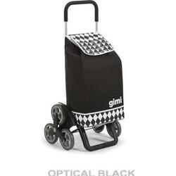 Tris Optical čierna nákupná taška