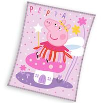 Pătură copii Peppa Pig Zână, 150 x 200 cm