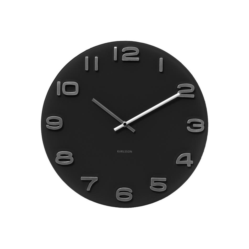 Fotografie Karlsson 4401 Designové nástěnné hodiny, 35 cm