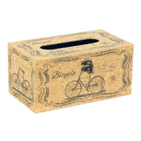 Box na vreckovky Bicycle, 25 cm
