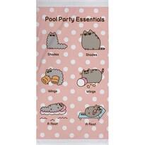 Ręcznik kąpielowy Pusheen Party, 70 x 140 cm