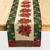 Běhoun Gobelín Vánoční hvězda, 33 x 140 cm