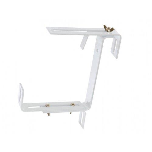 Držák samozavlažovacího truhlíku kovový nastavitelný 2ks, bílá