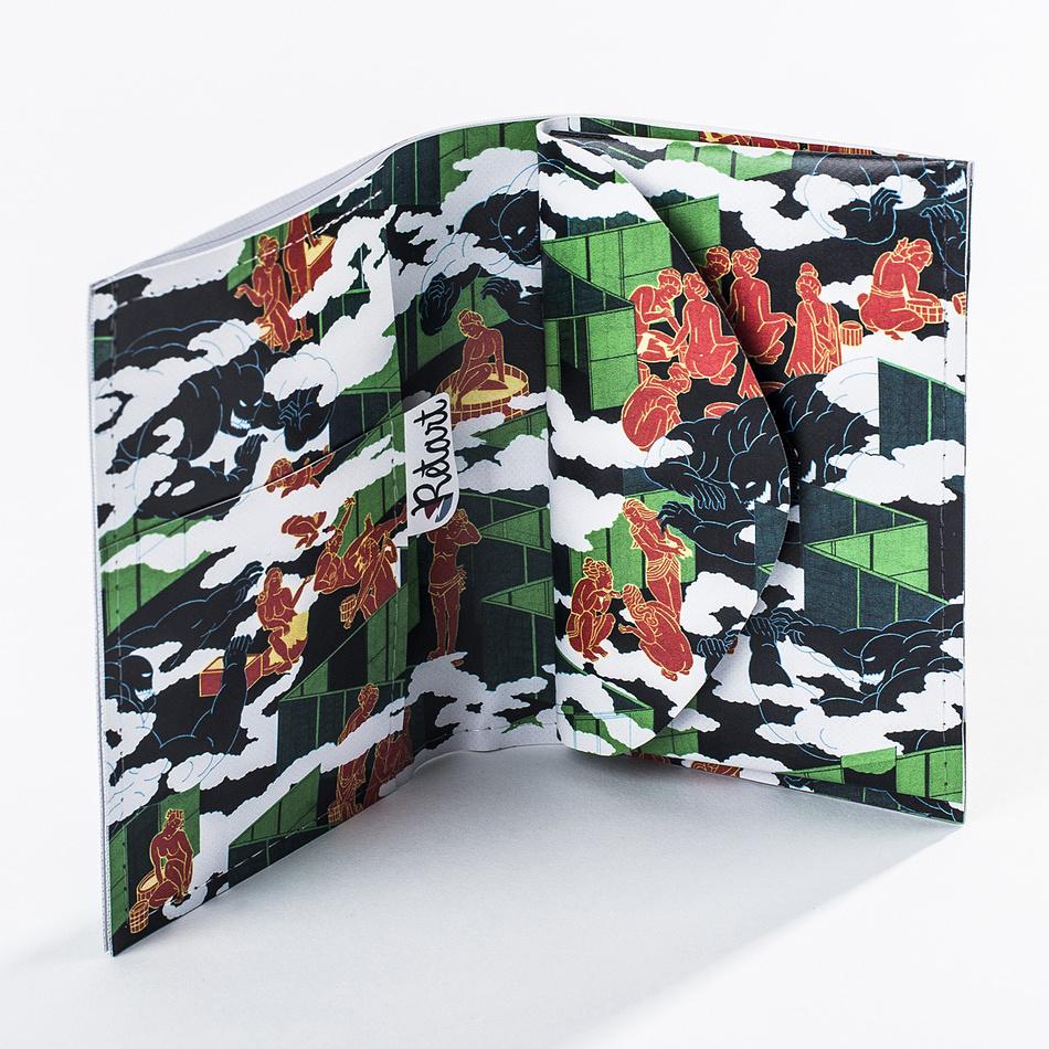 Retar Peňaženka Jon Fox 12 x 19 cm