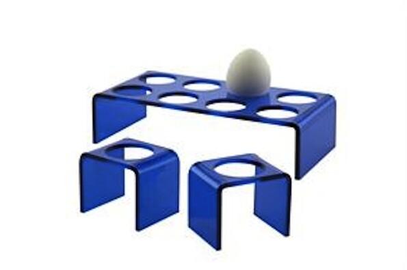 Podnos pro vajíčka Egg Tray, modrý