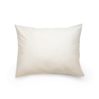 Povlak na polštář satén bílá, 70 x 90 cm