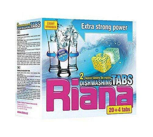 Multifunkční tablety do myčky Riana