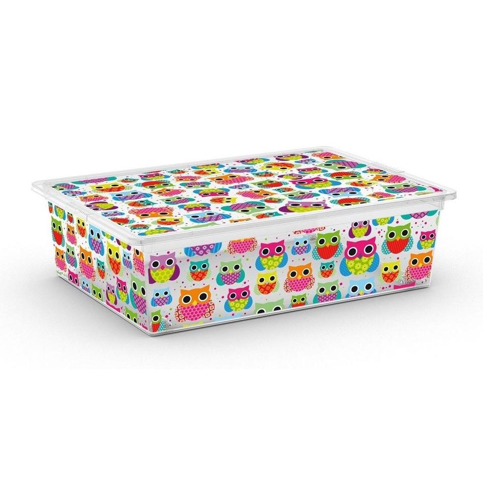KIS Úložný C box Style Tender Zoo XL 27l s kolečky
