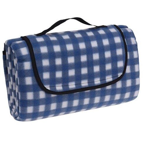 Pătură picnic Dice, albastru, 130 x 150 cm