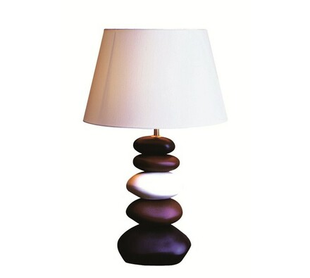 Stolní lampa Cappucino Stones, vícebarevná, 59 cm
