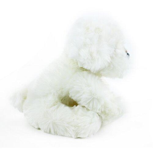Rappa Plyšový pes Bišonek, 26 cm