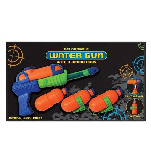 Vodné pištole so zásobníkmi
