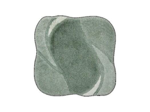 Koupelnová předložka Grund REGENT zelená, 60 x 60 cm