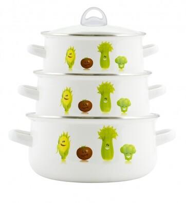 Smaltované nádobí