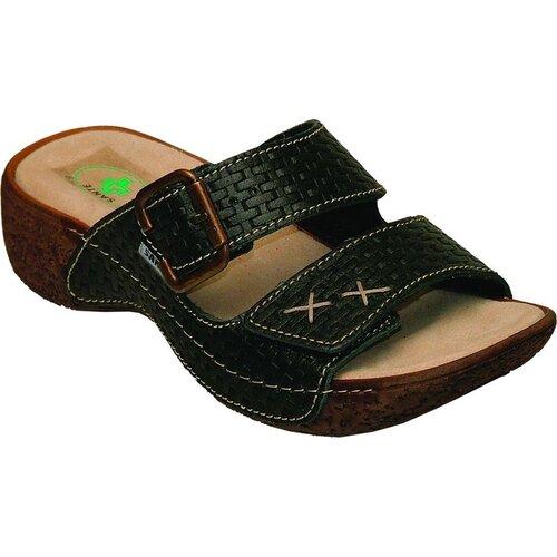 Dámské zdravotní pantofle Santé, černé