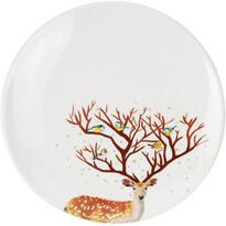 Dezertní talíř Dolomite 20 cm, bílá