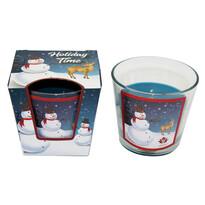 Arome Vonná sviečka Snowman Vanilla, 120 g