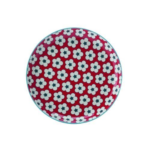 Maxwell & Williams Cotton Bud dezertný tanier Red, 18,5 cm