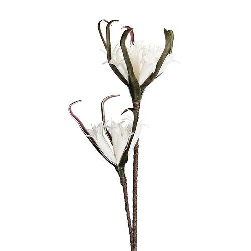 Umelá kvetina Strapatka biela