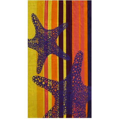 Plážová osuška Hvězdice, 90 x 170 cm