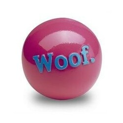 Orbee-Tuff Woof/Fetch ball, 8 cm, ružová
