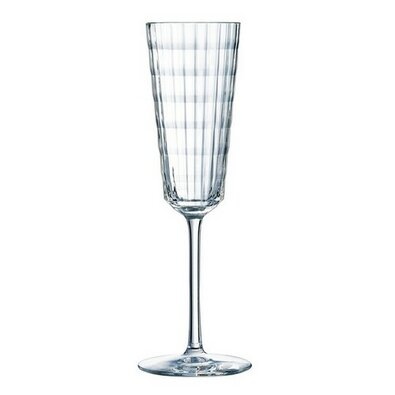 4dílná komplet kieliszków do szampana Iroko, 170 ml
