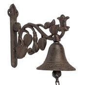 Kovový zvonek nad dveře Ornament