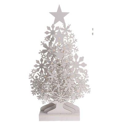 Tree with Stars karácsonyi dekoráció, 48 cm