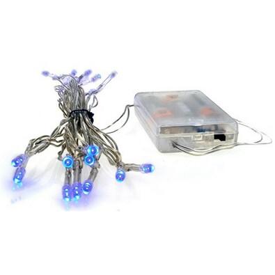 Lampki na choinkę mini Solight niebieski