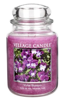 Village Candle Vonná svíčka Fialky - Violet Blossom, 645 g
