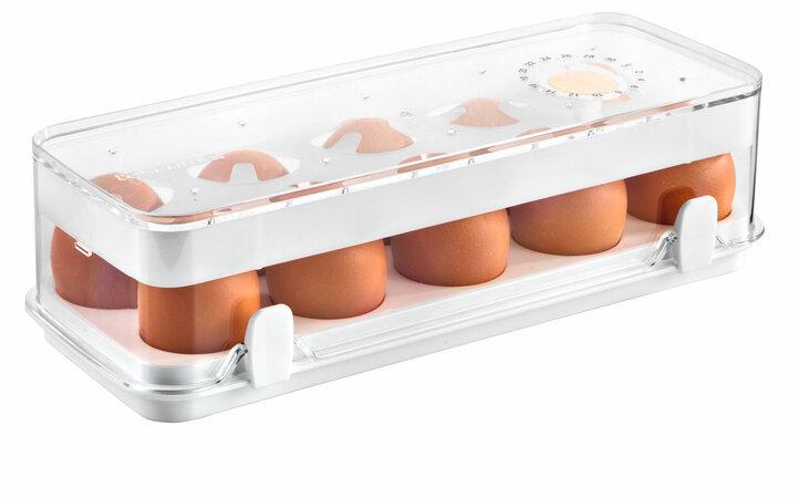 Tescoma Purity Zdravá dóza do chladničky, 10 vajec