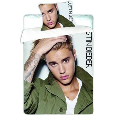 Bavlněné povlečení Justin Bieber, 140 x 200, 70 x 90 cm