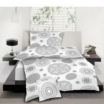 Bavlnené obliečky Mandala biela, 140 x 200 cm, 70 x 90 cm, 40 x 40 cm