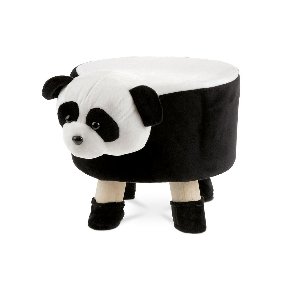 Taburet Little Panda, 29 x 35 cm imagine 2021 e4home.ro